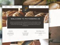 Patisserie 46 Website