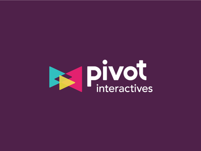 Logo for Science Video App for Students kids bright multiply play purple minimal bold branding logo