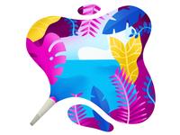 Tropical Smoke ✒️🌊🍹🌿