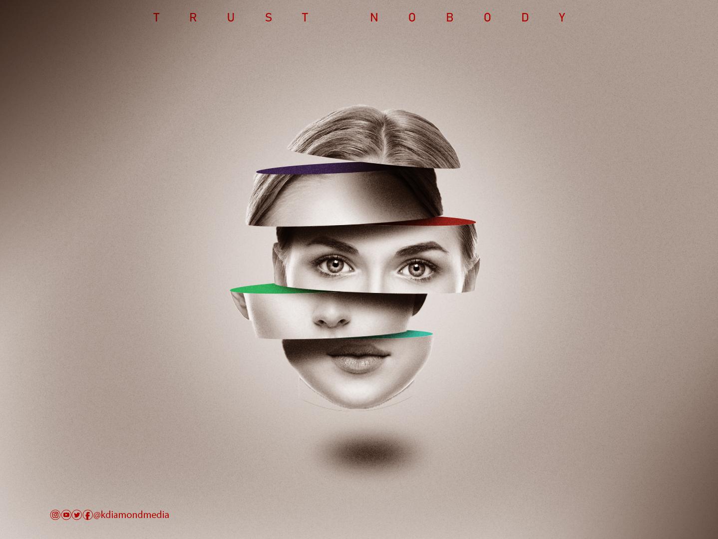 Woman Face Portrait @design @kdiamondmedia @ameachimathias