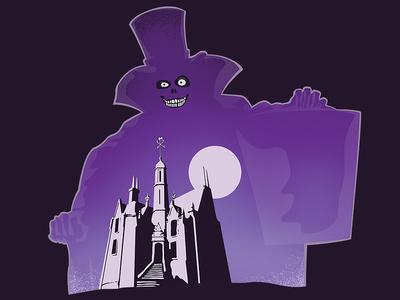 Hatbox Ghost disneyworld salems lot haunted mansion