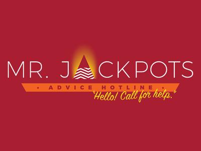 Mr. Jackpots call for help hello dale cooper design logo david lynch season 3 twin peaks