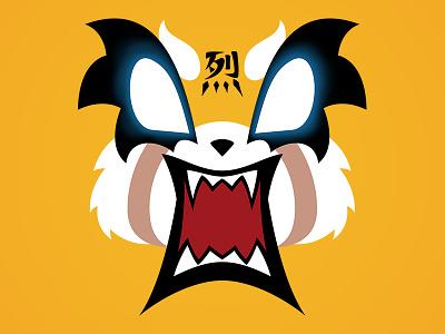 Aggretsuko vector kawaii red panda netflix anime retsuko