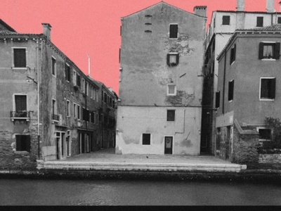 Venice re-imagined 2020 collage photography editorial design design