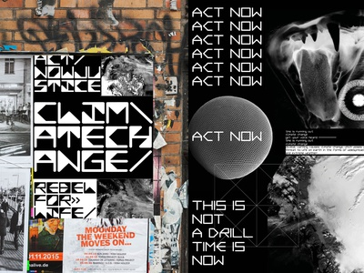 Sounds of Protest 2020 design editorial design