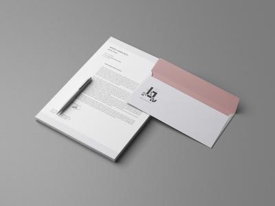 Bianca Branding stationery typography branding design