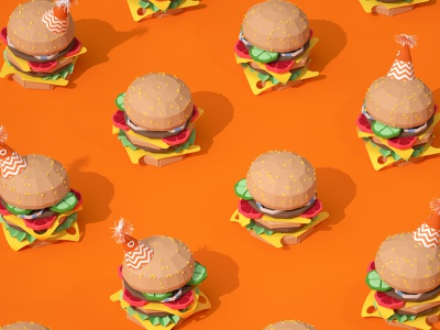 Didi Food Anniversary animation setdesign design illustration artdirection 3d art