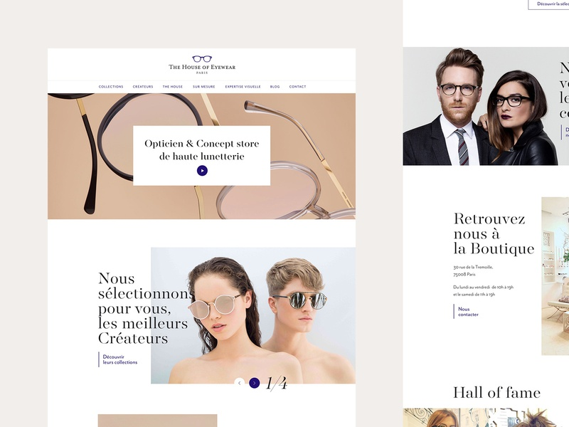 The House of Eyewear - Homepage