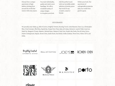 Barbara & Company Website Project website squarespace