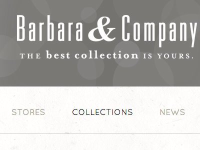 Barbara & Company Website Project website squarespace