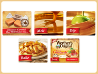 Werther's Original Caramel Flash Banner Ads