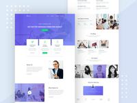 Commercial marketing agency website