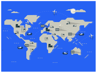 New Shipments Map