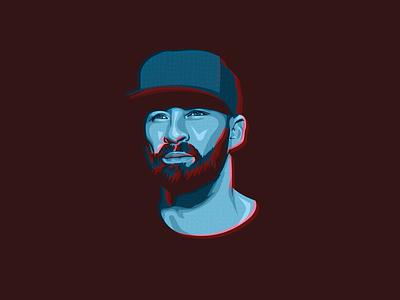 Gentleman illustration face musician reggae gentleman