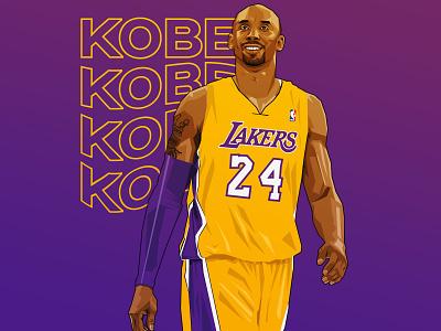 Kobe Tribute vector kobe kobebryant nba basketball