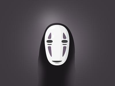 No Face kaonashi spirited away ghibli noface