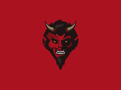 Devil mephisto illustration krono sticker devil