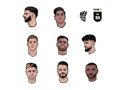 Club of 35 Soccer Player PT.2 tango league clubof35 adidas soccer football