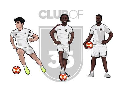 Club of 35 Soccer Player PT.5 tango league clubof35 adidas soccer football