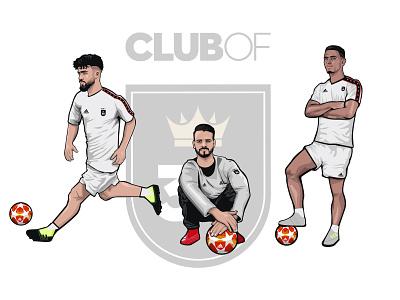 Club of 35 Soccer Player PT.6 tango league clubof35 adidas soccer football