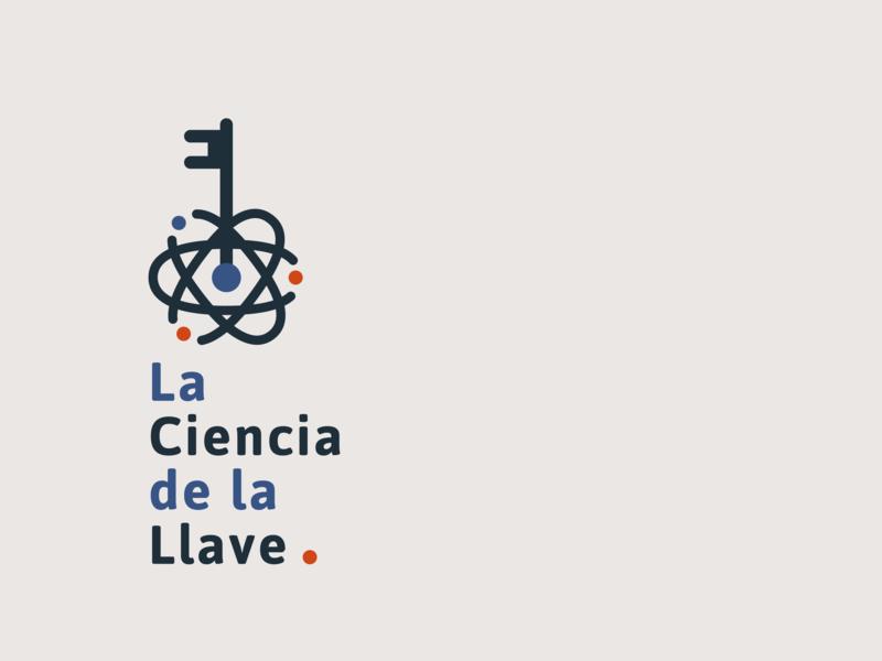 La Ciencia De La Llave keys science brand logotype logo design locksmith branding logo