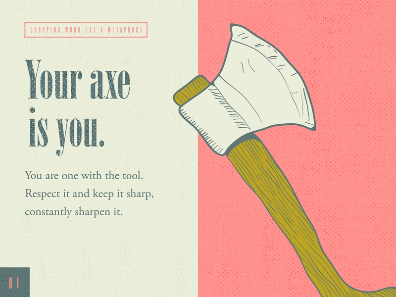 Your Axe Is You axe digital illustration daily doodle adobedesign graphic design graphic design studio branding typography vector illustrator illustration hand sketch hand crafted design austin texas adobe illustrator