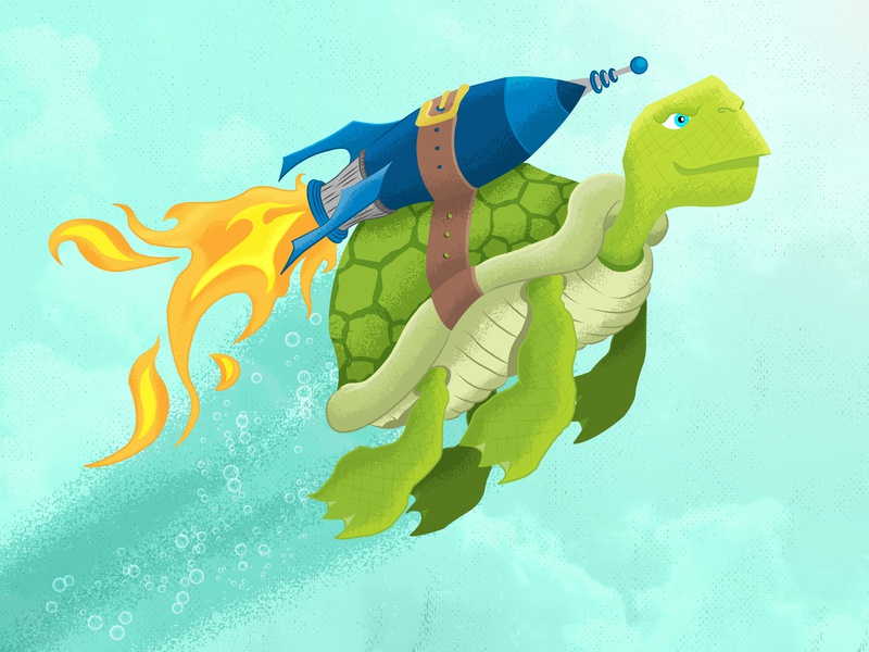 Rocket Turtle kids art hand sketch adobe illustrator space exploration future flying turtle sea art character illustration animal illustration illusration turtle art rocket launch rocket turtle turtle