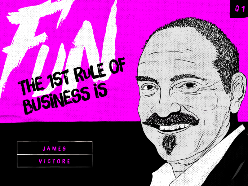 The First Rule of Business is Fun! daily doodle moon bear design studio daily quotes legendary designers create daily designer quotes made for fun james victore famous designer quotes to live by famous designers