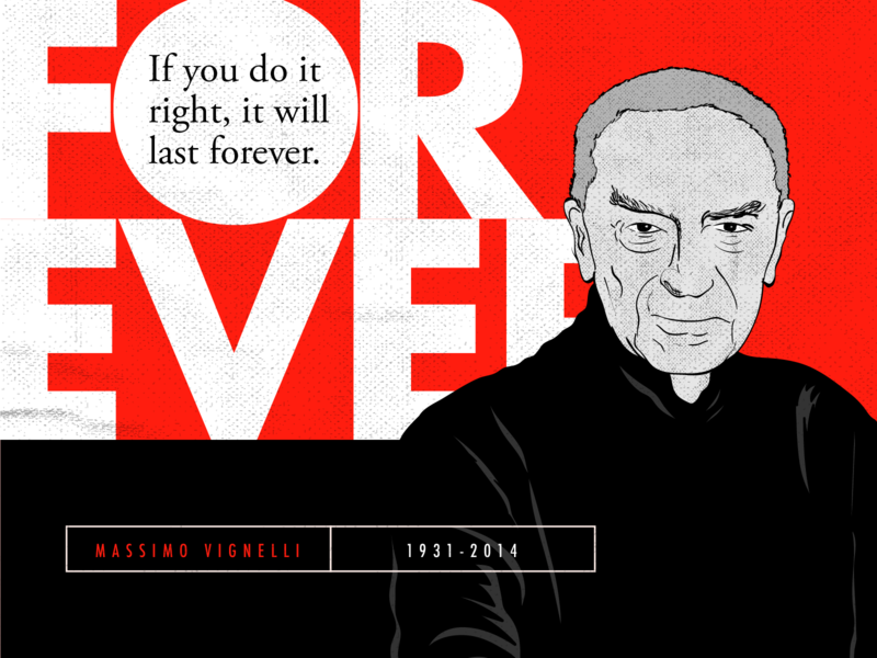 Massimo Vignelli Quotes typograph designer  type famous designer quotes designer quotes design illustrator adobe illustrator quotes