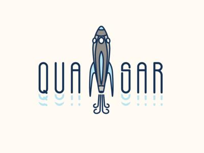 Day 01 - Logo Design Challenge: Rocketship Logo