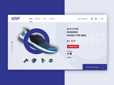 Shoes eCommerce shop