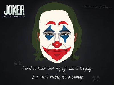 Illustration - Joker 2019 vector batman joker illustration joker design illustration