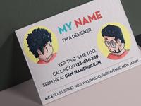 A Cute Business Card