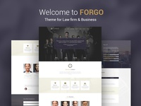 Forgo. Theme for Law firm & Business