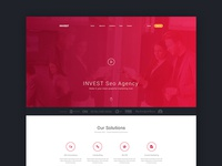 Invest Seo Agency Landing Page
