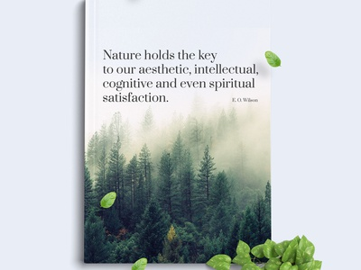 Ephic Template. Green Presentation artist one page nature web design template psd html themeforest