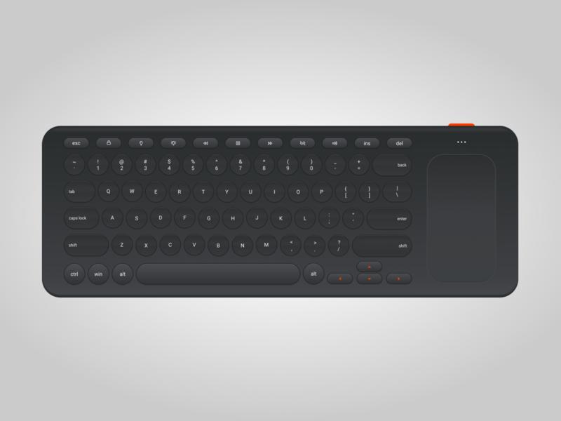 Keyboard Illustration user experience interface illustraion device technology keyboard figma