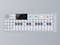 Op-1 Synthesizer Illustration