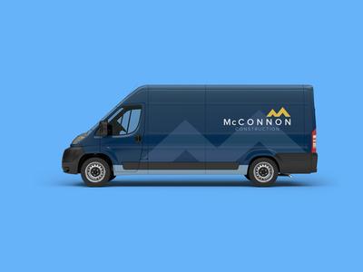 McConnon Construction - Vehicle Wrap