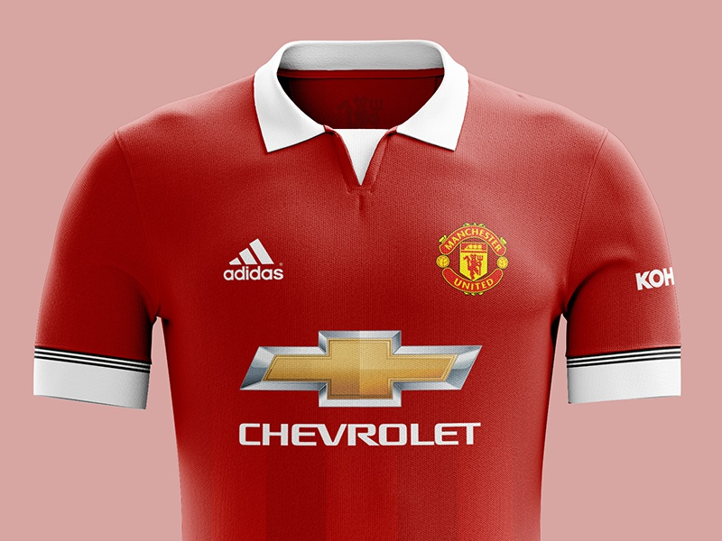 size 40 7f094 6343d Manchester United kit concept by Kelvin Farrell on Dribbble