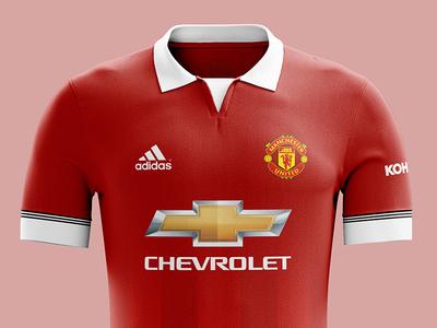 Manchester United kit concept mockup photoshop clothing jersey kit sport mufc man utd manchester united soccer football