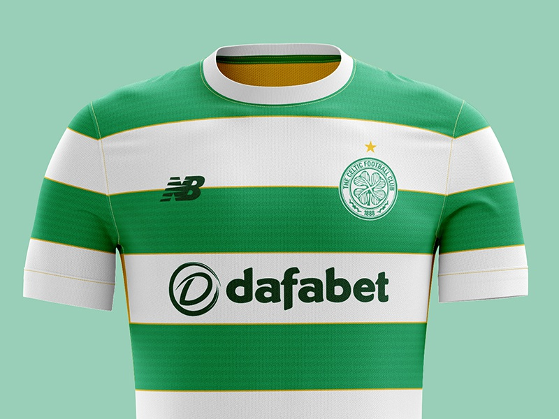 low priced bc026 2b4ba Celtic FC kit concept by Kelvin Farrell on Dribbble