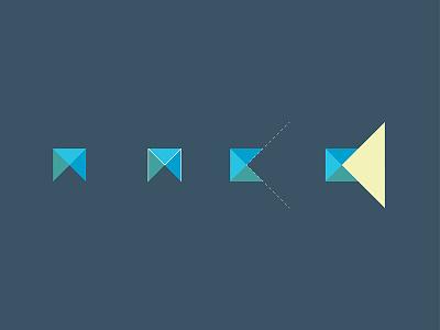 Lighthouse logomark minimal flat icon design green yellow blue ideas concept logo branding brand