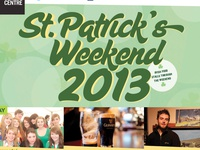 St. Patrick's Weekend - Event Poster