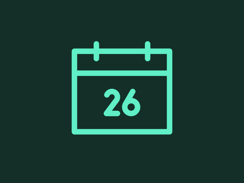 Phosphor Calendar Icon