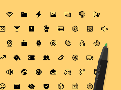 Phosphor Icons is live! user interface icons ui tools icon design icon pack icon family icon set iconography icon