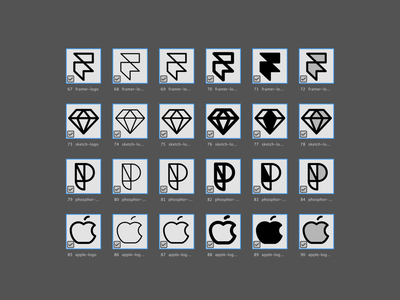 Brand Icons tools ui user interface icon design icon pack icon set icon family iconography icons icon