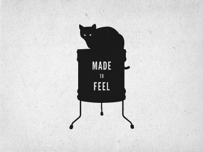 Made to Feel Tee Design design vector illustration tee texture