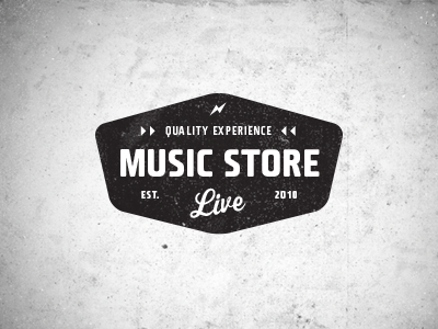 Music Store Live Logo 1