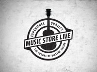Music Store Live Logo 2